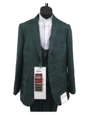 Plaid Suits - Window Pane Fashion