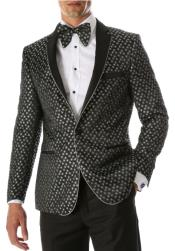 Silver Blazer - Light Grey Blazer