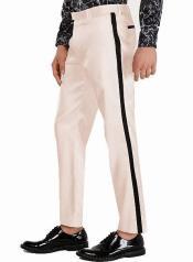 ivory Flat Front Pant