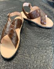 Ostrich Sandals - Huarache Avestruz