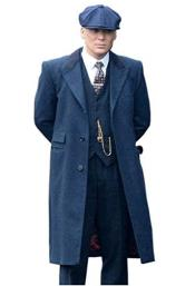 Thomas Shelby Costume Jacket + Pants + Vest + Overcoat +