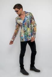 Floral Suit - Paisley Suit - Fashion Suit Floral