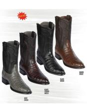 Los Altos Caiman Belly Boots are classic and 100% handcrafted - Alligator