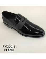 Black Formal Shoes - Black Dress Shoes - Leather Shoe Made in