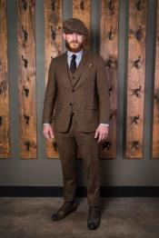Mens Tweed Suit 1920 Suits - Peaky Blinders Suit - Old School