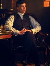 The Peaky Blinders Waistcoat - Vintage Vest + Matching Pants and Shirt