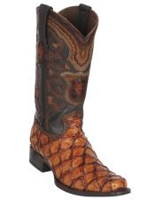 Botas De Pescado Mens Los Altos Pirarucu Boot Cognac