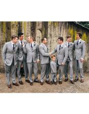 Groomsmen Suits + Shirt and Tie Color Package $169 (Slim Fit or Modern Fit)