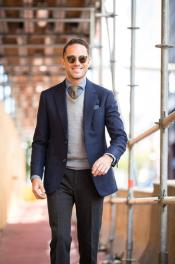 Suit with Sweater - Package Deal