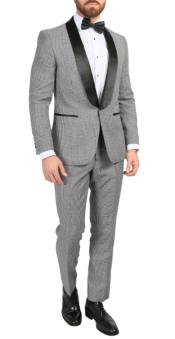 Houndstooth Blazer - Houndstooth Sport Jacket - Slim Fit Blazer