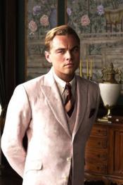 Mens Great Gatsby Leonardo Dicaprio Pink Suit