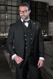 Classic Fit Suit - One Button with Double Breasted Vest Super 150s