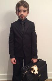 John Wick Halloween Costume Quality Black Shirt + Suit + Vest +