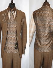 Plaid Suit - Vested Three Piece