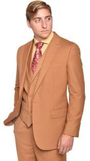 Mens Steven Land Suits 3 Piece Wool Suit Walter Classic Fit Autumn