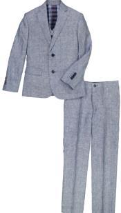 Boys Linen Suit - Toddler Linen Suit