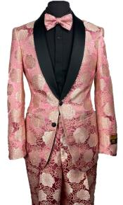 Rose Gold Suit - Rose Gold Tuxedo