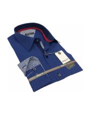 100% Cotton Mens Casual Dress Shirt