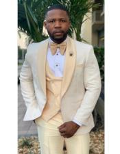 Champaign Tuxedo - Mens Cream Tuxedo - Ivory Tuxedo - Off White