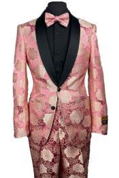 Floral Prom Suit - Vienna-Rose