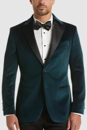 Teal Tuxedo - Teal Blue Tuxedo