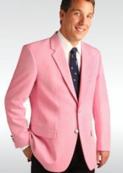Mens Blazer Pink
