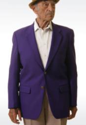 Mens Blazer Purple