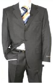 SKU KY93  Mens Charcoal Gray 80 Wool 20Rayon Discount Cheap Suit 79