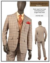 Steve Harvey Suits Brown
