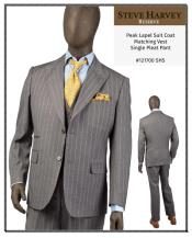 Steve Harvey Suits Gray