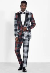 Tartan Tuxedo - Plaid Tuxedos