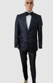Prom Suits - Wedding Suit - Paisley Suit - Floral Suit +