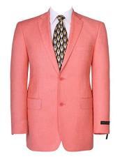 Mens Coral Blazer - Coral Sport Coat