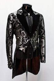 Black Victorian Tuxedo