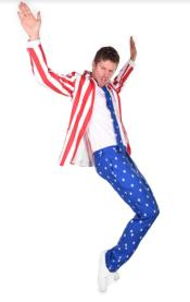 American Flag Suits