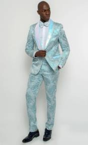 Dusty Blue Tuxedo
