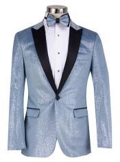 Light Blue Tuxedo - Baby Blue Tuxedos - Sky Blue Blazer With