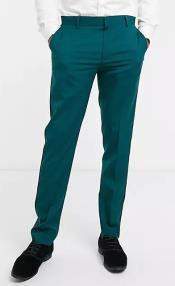 Many Styles Mens Teal Pants - Mens Teal Dress Pants