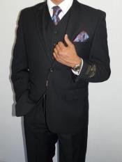 Mens light blue Tweed Suit - light blue Wool Suit - Winter