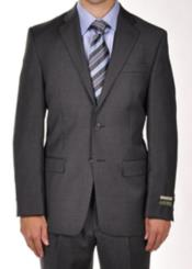 Suits For Big Belly Charcoal