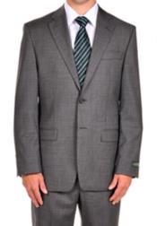 Suits For Big Belly Steel Grey