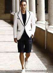 Mens Tuxedo Short