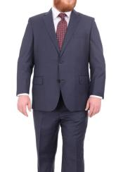 Suits For Big Belly Heather Blue