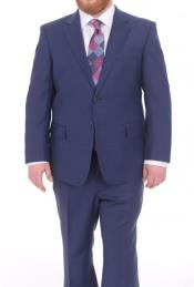 Suits For Big Belly Blue