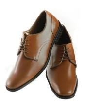 Groomsmen Shoe - Groom Shoe - Brown Dress Shoe