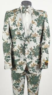 Emerald Green Tuxedo Suit - Wedding Prom Fashion Suit