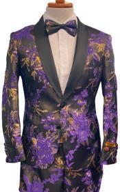 Prom Tuxedo in Purple