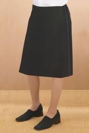 Polyester Tuxedo Skirt -