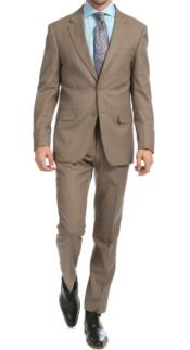 Taupe Suitg - Mocca - Dark Tan Suit - Tan Wedding Suit