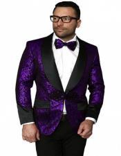 Suit With Black Pants